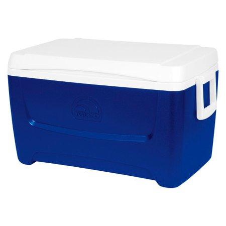caixa térmica 45 litros island breeze 48 qt azul