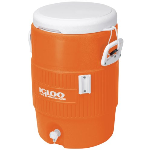 cooler térmico 5 gallon seat top laranja
