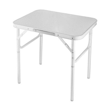 mesa dobrável em alumínio com tampo de mdf 60 x 45 cm
