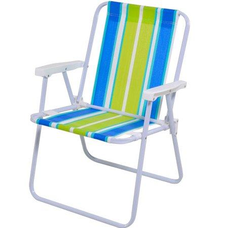 cadeira alta de aço e polietileno