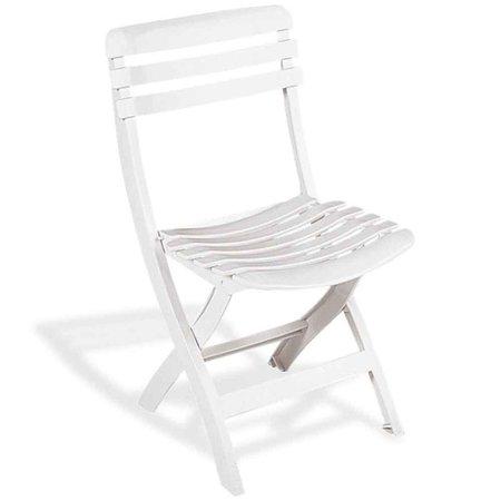 cadeira dobrável branca - ipanema