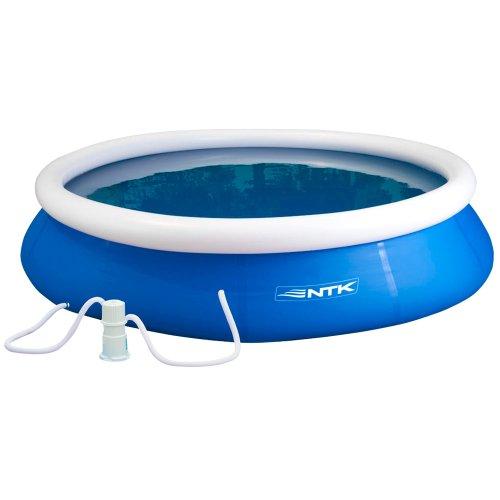 combo piscina 2000 litros ntk 2600l + filtro 110v