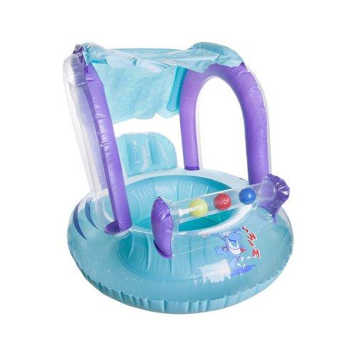 boia com assento para bebês com teto ntk baby seat ring