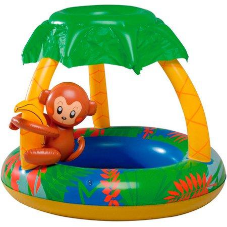 banheira inflável macaco com capacidade de 65 litros