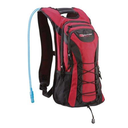 mochila de hidratação adventure vermelho