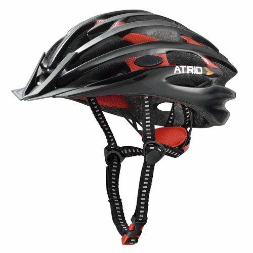 capacete para ciclismo inmold com led vermelho m