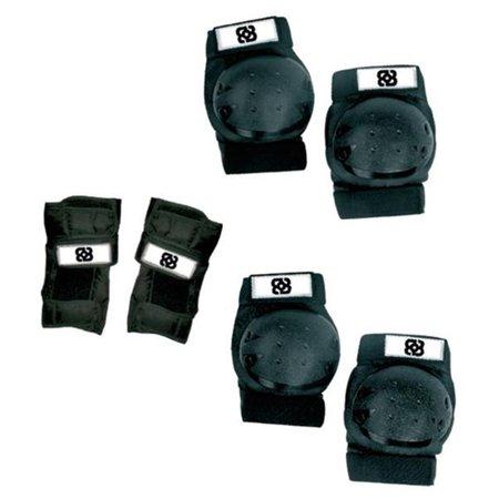 kit de proteção bob burnquist com 6 peças