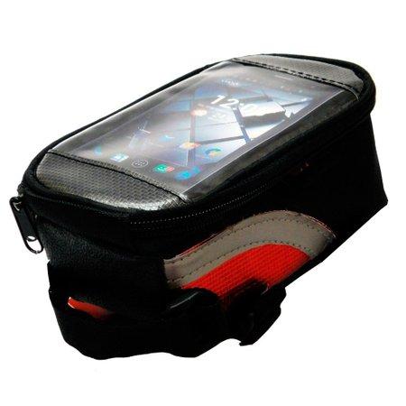 bolsa para quadro com porta celular atrio