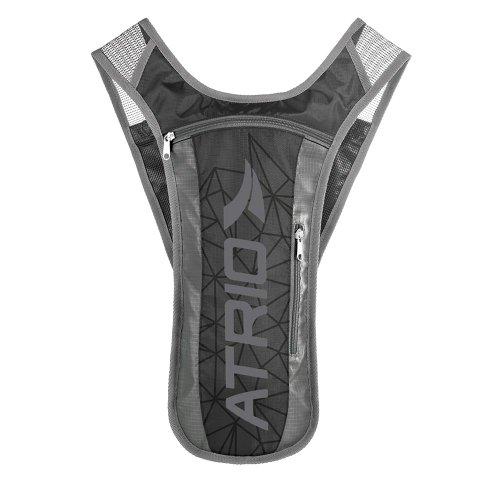 mochila de hidratação spint preta de 1,5l