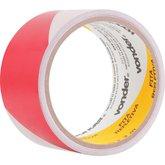 Fita adesiva refletiva 50 mm x 3 m vermelha e branca VONDER