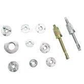 Conjunto de Ferramentas para Pressionar o Êmbolo da Pinça do Freio ABS com 8 Adaptadores