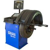 Balanceadora de Rodas Motorizada Azul com Monitor LCD  - MAQUINAS RIBEIRO-MR7079-A
