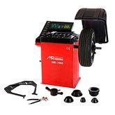Balanceadora de Rodas Motorizada Vermelho 220V Monofásica