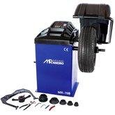 Balanceadora Motorizada Azul com Capo de Proteção 10 a 24 Pol. Monofásica
