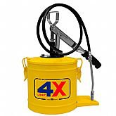 Bomba Manual para Graxa Manual 7kg Amarelo HZ-8 - HYDRONLUBZ-5292