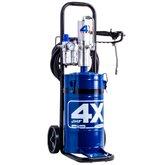Propulsora Pneumática de Graxa JHF 4X com Reservatório para 14Kg