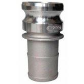 Adaptador Camlock Alumínio Tipo E 1 x 1 Pol.