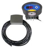 Calibrador Eletrônico de Pneus em ABS 5 à 145 PSI 110/220V