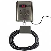 Calibrador Eletrônico de Pneus em Aço Inox 5 á 145 PSI Bivolt  - SCHWEERS-SCH-145EUROTECH