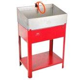 Lavadora de Peças Vermelha 600mm 20 Litros  - FERCAR-LV-6