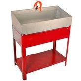 Lavadora de Peças Vermelha 800mm 20 Litros  - FERCAR-LV-810