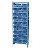 Estante Porta Componentes Com 27 Caixas Número 5 Cor Azul