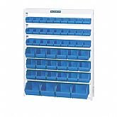 Estante Porta-Componentes com 49 Caixas Azuis - MARCON-EP49A