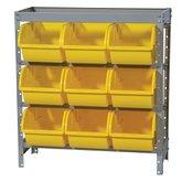 Estante Porta Componentes com 9 Caixas Amarelas Nr. 7 - MARCON-EF9/7AM