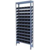 Estante Porta Componentes com 60 Caixas Preta Nr. 3
