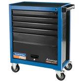 Carro para Ferramentas Azul com 5 Gavetas e 1 Porta - TRAMONTINA PRO-44950209