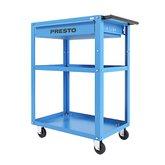 Carro Aberto para Ferramentas Azul com Gaveta - PRESTO-12307