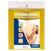 Lona Plástica Cortada Amarela 4x4 Metros - PLASITAP-B158