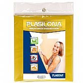 Lona Plástica Cortada Amarela 5x4 Metros - PLASITAP-C158