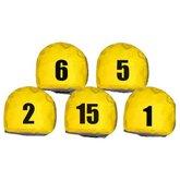 Jogo de Prismas Amarela com Número de 1 a 15