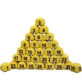 Prisma Jogo de 1 a 30 Amarelo - PRISMASUL-1A30AMARELO