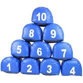 Jogo Prisma Azul 1 a 10 - PRISMASUL-1AO10AZUL