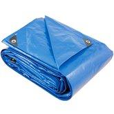 Lona Reforçada de Polietileno 12 m x 8 m Azul - VONDER-61.34.128.000