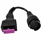 Cabo Diesel Iveco 38 Pinos - EasyConnect para o Scanner KTS 590 - BOSCH-1.684.463.834-390