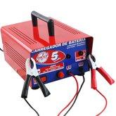 Carregador de Bateria 5A 12V Eletrônico - OKEI-CB05-HOBBY