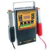 Testador Digital de Bateria Microprocessado e Automático 200A 12V - UPSAI-TDU-200