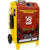 Carregador de Baterias Charger 1000 100A 12/24V Mono Bivolt