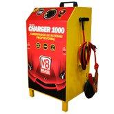 Carregador de Baterias 100A 12/24V Mono Bivolt - V8 BRASIL-CHARGER1000