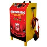 Carregador de Baterias Charger 524G 50A 12/24V Bivolt com Auxiliar de Partida - V8 BRASIL-119468