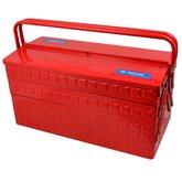 Caixa Metálica Sanfonada Vermelha para Ferramentas - KINGTONY-87A05A