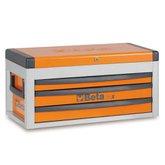 Caixa para Ferramentas com Bau Laranja C22S - BETA-22000501