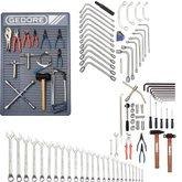 Kit de Ferramentas para Manutenção Mecânica Veículo Leve - GEDORE-KMM-VL2