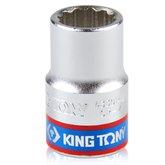 Soquete Estriado de 14 mm com Encaixe de 1/2 Pol. - KINGTONY-433014MR