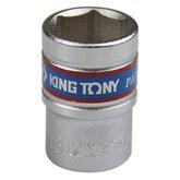 Soquete Sextavado Curto 18 mm com Encaixe  de 1/2 Pol.  - KINGTONY-433518