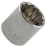 Soquete Estriado 32 mm com Encaixe de 1/2 Pol. - BELZER-204021BBR