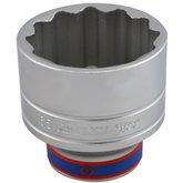 Soquete Estriado de 65mm com Encaixe de 3/4 Pol.  - KINGTONY-633065M